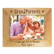 Grandparents 5x7 Wooden Frame